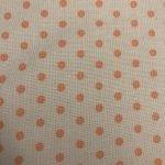 Orange Dots on Cream