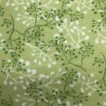 Dark Green & Cream Abstract Branches